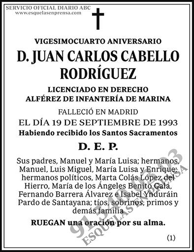Juan Carlos Cabello Rodríguez